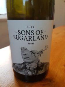 Sons of Sugarland Syrah 2017
