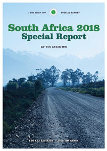 Tim Atkin SA Special Report 2018