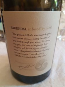 Eikendal Infused by Earth Chardonnay 2016