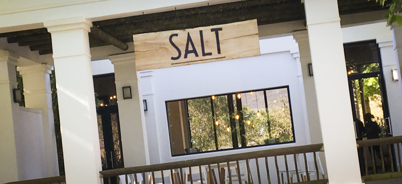 Salt at Paul Cluver