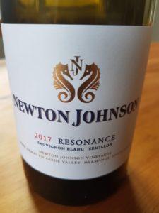 Newton Johnson Resonance 2017