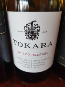 Tokara Limited Release Pinotage 2016