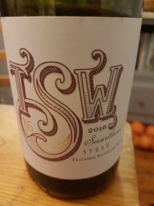 Trizanne Signature Wines Swartland Syrah 2016, Trizanne Signature Wines Swartland Syrah 2016