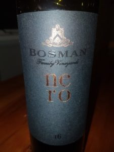 Bosman Family Vineyards Nero 2016