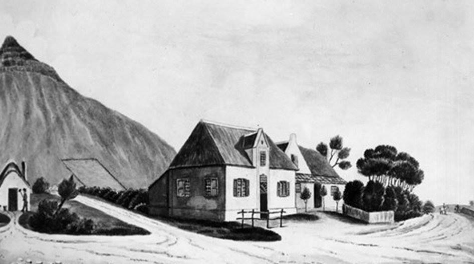De Drie Koppen Inn in Mowbray.