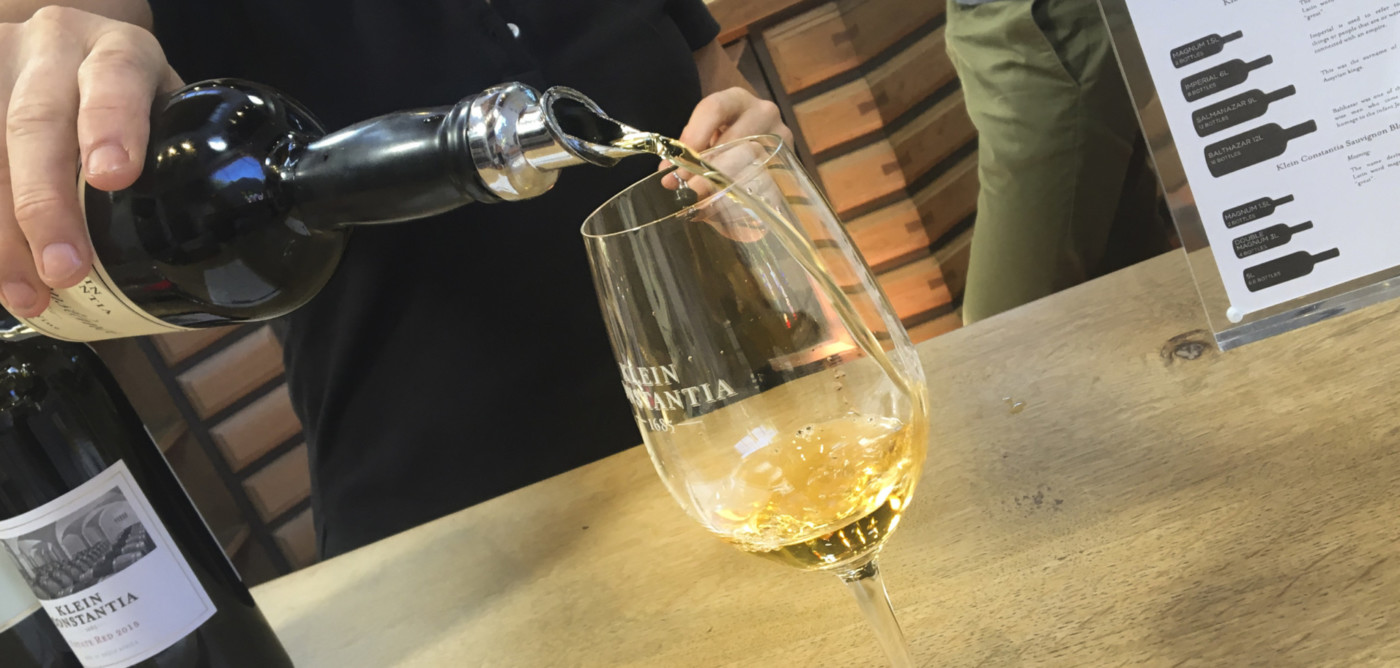 Vin de Constance - the equivalent of being kissed by an angel.