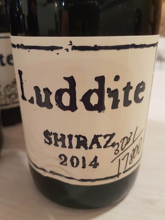 Luddite Shiraz 2014