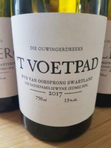 Old Vine Series 'T Voetpad 2017