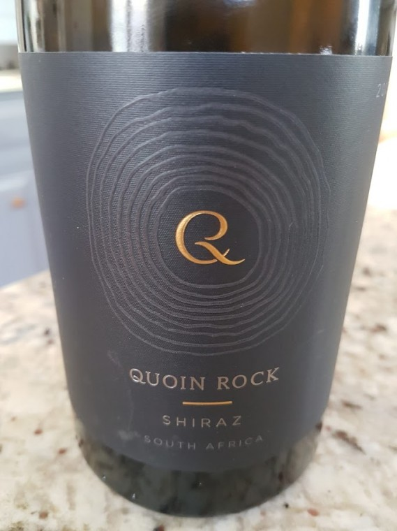 Quoin Rock Shiraz 2015