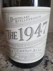 Kaapzicht The 1947 Chenin Blanc 2017