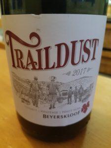 Beyerskloof Traildust 2017