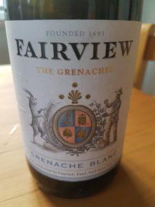 Fairview Grenache Blanc 2018