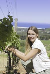 Riandri Visser of Cape Point Vineyards