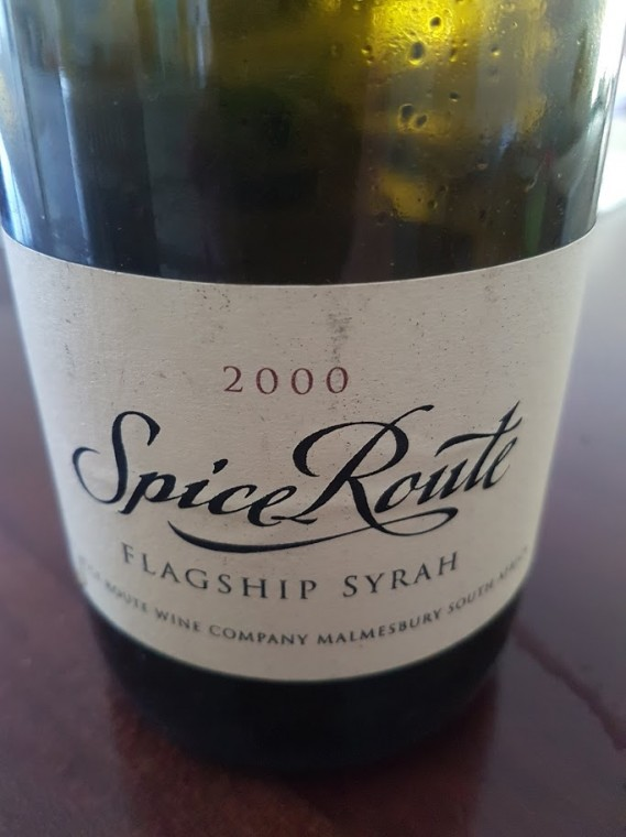 Spice Route Flagship Syrah 2000