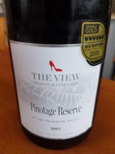 The View Pinotage Reserve 2015