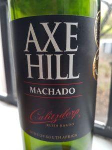 Axe Hill Machado 2015