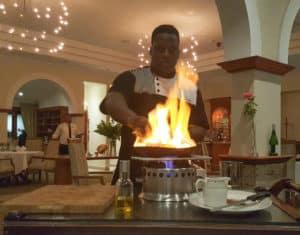 Basils Fine Dining Restaurant