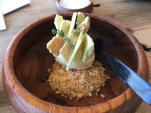 Dune celery ice cream