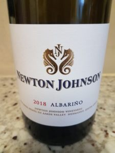 Newton Johnson Albarino 2018