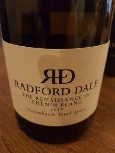 Radford Dale The Renaissance of Chenin Blanc 2017