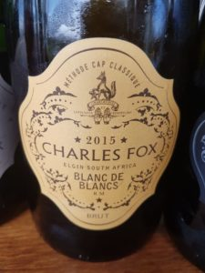 Charles Fox Blanc de Blancs 2015