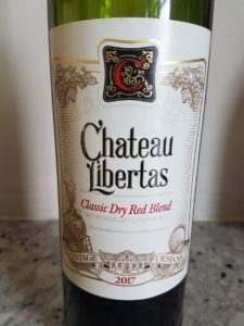 Chateau Libertas Classic Dry Red Blend 2017, Chateau Libertas Classic Dry Red Blend 2017
