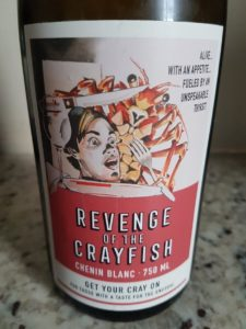 Revenge of the Crayfish Chenin Blanc 2018