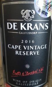 De-Krans-Cape-Vintage-Reserve-2016