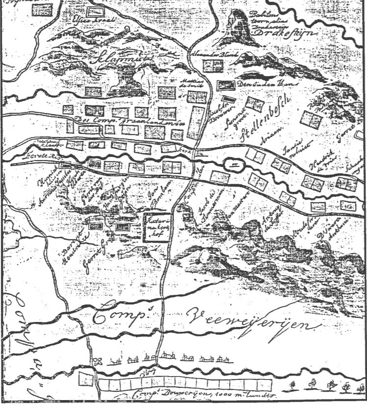Stellenbosch-circa-1690
